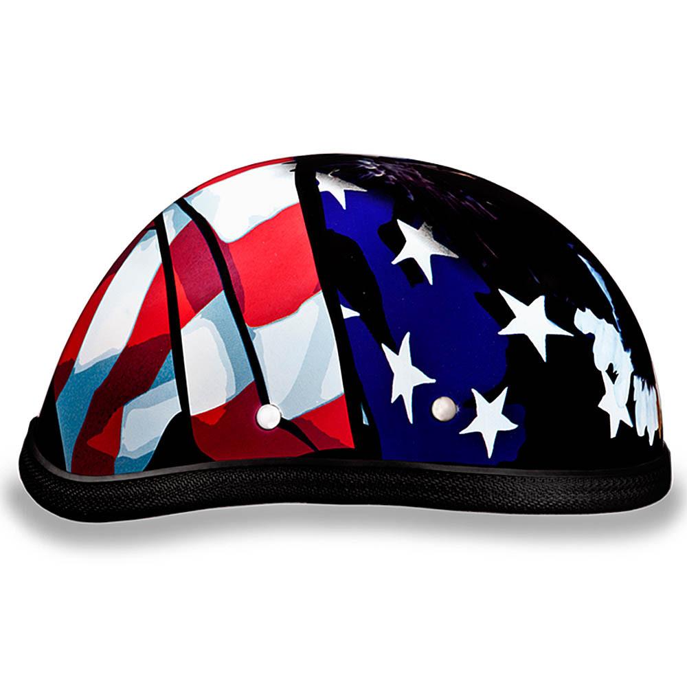 Freedom Novelty Helmet - Eagle Novelty Motorcycle Helmet - Daytona XS thru 2XL