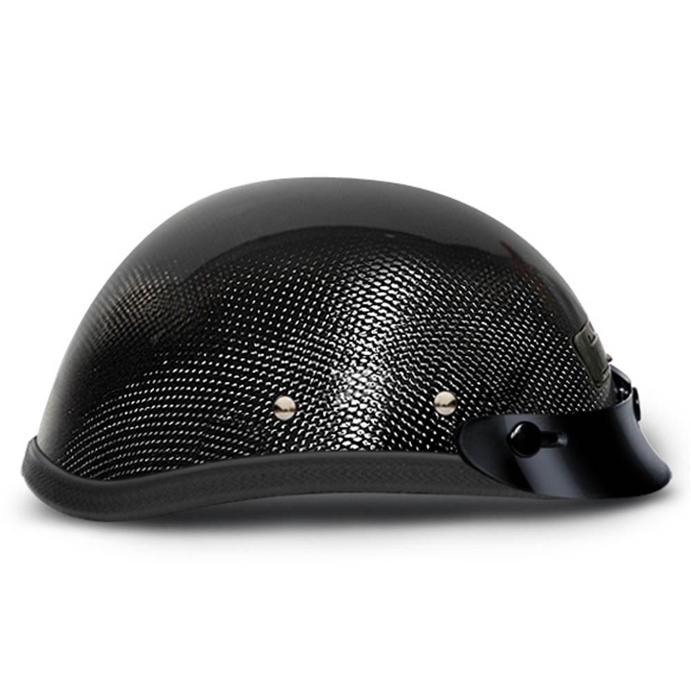Real Carbon Fiber Eagle Novelty Helmet with Vents by Daytona Size XS-2XL