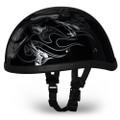 Cross Bones Eagle Novelty Motorcycle Helmet by Daytona Helmets - Size XS-2XL