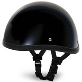 Gloss Black Smokey Style Novelty Motorcycle Helmet by Daytona Helmets XS-2XL