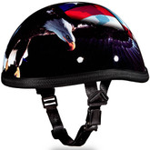 Freedom Novelty Helmet - Eagle Novelty Motorcycle Helmet - Daytona XS thru 2XL