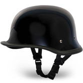 German Novelty Motorcycle Helmet | Black German Novelty Helmet by Daytona XS-2XL