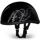 Barbed Skulls Eagle Novelty Helmet | Novelty Helmets by Daytona XS S M L XL 2XL