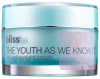 bliss - The youth as we know it | Anti-Aging Night Cream