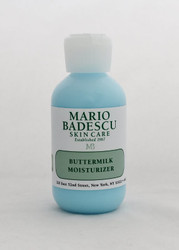 Mario Badescu ButterMilk Moisturizer 2oz  Absorbent and soothing daily moisturizer for combination skin. Formulated with Allantoin, an anti-inflammatory ingredient to help calm irritated skin.   Instruction: After cleansing and toning, apply daily all over face, avoiding eye area.