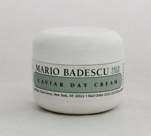 Mario Badescu Caviar Day Cream 1oz  dry, mature or dehydrated skin. This luxurious cream is formulated with Caviar Extract to help protect and soften delicate skin. Best suited for cold seasons or very dehydrated skin types.   Instruction: After cleansing and toning, apply all over face daily, avoiding eye area.