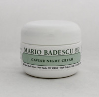 Mario Badescu Caviar Night Cream 1oz  Help preserve skin's firmness and elasticity.   Instruction: After cleansing and toning, apply all over face nightly, avoiding eye area.
