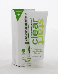 Dermalogica CLEAR START Pore Control Scrub 2.5oz  Deep clean pores and scrub away dull skin for a clearer you!  Purifying bentonite clay absorbs excess oil and debris from skin, and helps to control shine.  Refreshing botanicals reinvigorate skin.  Skin-smoothing scrub helps skin feel cleaner and fresher than before
