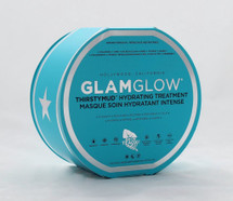 GlamGlow ThirstyMud Hydrating Treatment  Size: 1.7oz  A nondrying hydration mask to deliver instant, extreme hydration.   What it is formulated to do: THIRSTYMUD™ uses the newest, most advanced, and extreme hydration active technologies. It moisturizes, restores, replenishes, and calms the skin. Dewdration™ boosts and locks in moisture for a dewy and youthful result while HydraPack™ leaves skin with an instant silky, soft, and supple feel. GreenEnergy™ smooths and energizes the skin, giving you a healthy-looking, glowing complexion   What it is formulated WITHOUT: - Parabens - Sulfates  - Phthalates    Instruction:   Suggested Usage: -Use two to three times per week or when needed. -Apply an even layer to clean, dry skin. -Can be used on the face, neck, and chest. -Daytime use: Leave on for 10 to 20 minutes, allowing product to absorb into the skin. Wipe off with tissue and massage remaining product into skin or rinse with water.  -Nighttime use: Leave on to infuse the skin with moisture and wake up with extremely hydrated skin. -In-flight use: Apply at beginning of the flight and leave on for flight duration.  Precautions: -Avoid contact with eyes. If contact occurs, rinse with water. -For external use only.