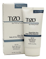 Tizo Age Defying Fusion TINTED Ultra Zinc Body & Face Sunscreen, 3.5 oz.