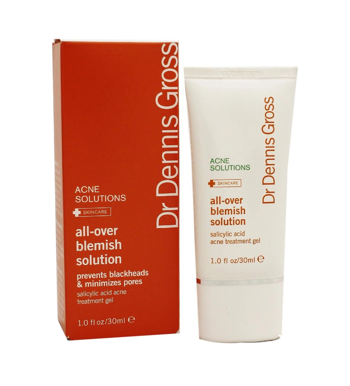 Dr Dennis Gross - All-Over Blemish Solution -30ml/1oz Sensai Silk Moisture Supply Eye Cream 0.5oz