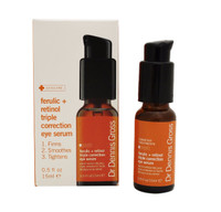 Dr Dennis Gross Ferulic + Retinol Triple Correction Eye Serum, 0.5oz
