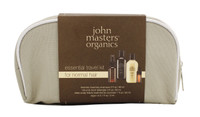 John Masters Organics Essential Travel Kit for Normal Hair, 4 pcs