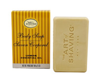 The Art of Shaving Body Soap Lemon Essential Oil, 7 oz.