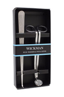 Wickman Stainless Steel Wick Trimmer & Wick Dipper (Two Item Multi-pack)