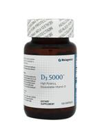 Metagenics D3 5000, 120 soft gels