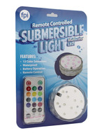Fortune Products Inc. Remote Controlled Submersible Light Multicolor LEDs