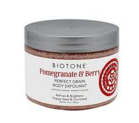 Biotone Pomegranate & Berry Perfect Grain Body Exfoliant, 12 oz.