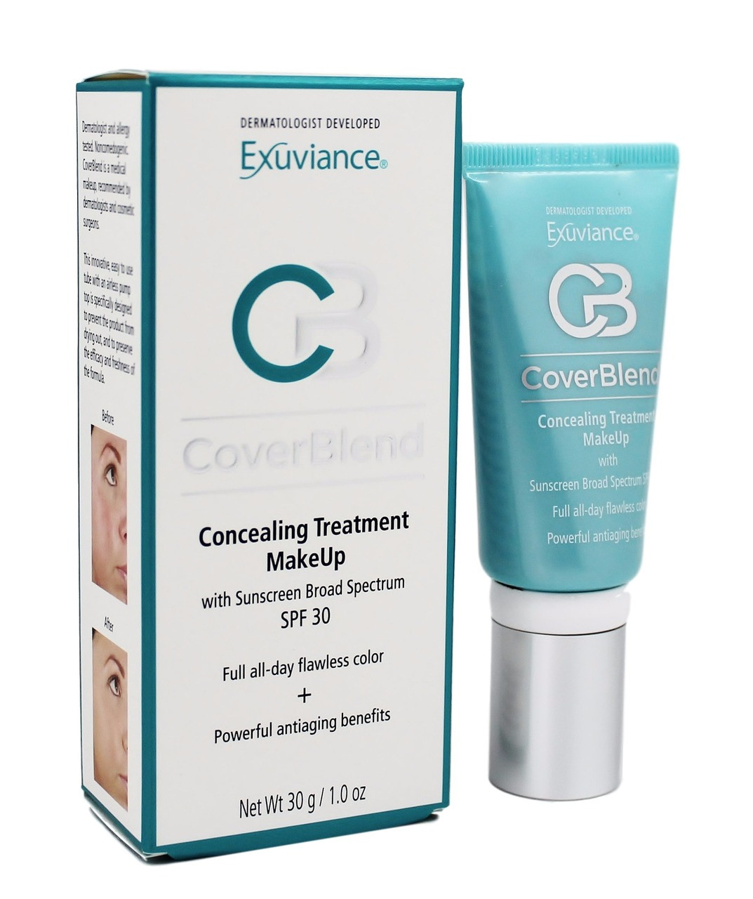 exuviance coverblend concealing treatment