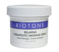Biotone Relaxing Therapeutic Massage Cream, 2 oz.