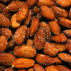 Linn's Roasted & Salted Almonds 8 oz.