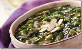 Asparagus Lemon Soup