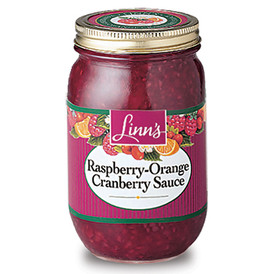 Linn's Raspberry-Orange Cranberry Sauce