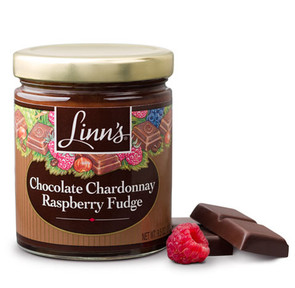 Chocolate Chardonnay Raspberry Fudge Topping