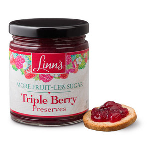 Linn's Triple Berry Preserves