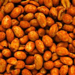 Linn's Hot & Spicy Peanuts 8 oz.