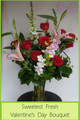 Sweetest Fresh Valentines Day Bouquet*** Please Call for  Availability**** 758-3277