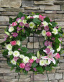 Fresh Sentimental Wreath