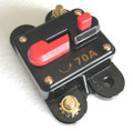12 Volt Car Audio 70 AMP Circuit Breaker with Reset up to 700 watts