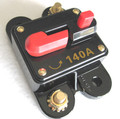 12 Volt Car Audio 140 AMP Circuit Breaker with Reset up to 1400 watts