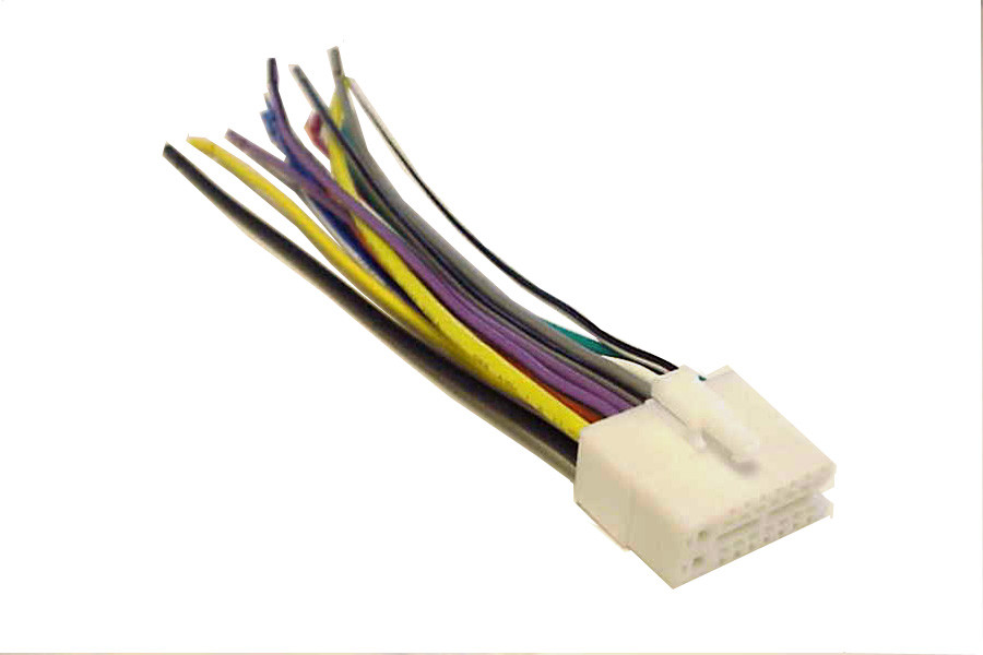 clarion wiring harness car stereo 16 pin wire connector mobilistics™clarion wiring harness car stereo 16 pin wire connector image 1
