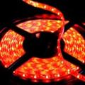"""LED STRIP LIGHTING TAPE  Reel 5/16"""" x 16' (5m) waterproof  flexable RED"""
