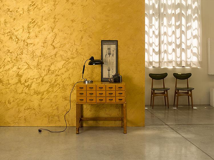 Venetian plaster by atova international marmorino - Habiller un mur interieur ...