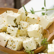 Feta Cheese (Marinated)