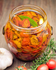 Sundried Tomatoes in Cold Pressed Olive Oil