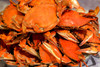 Boiled Blue Crabs - Large (priced by dozen)