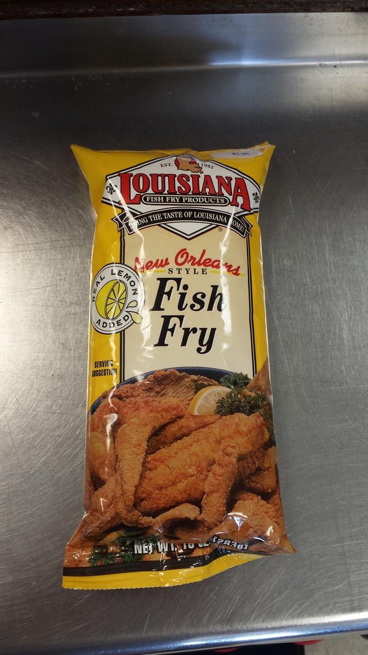 Louisiana new orleans style fish fry fisherman 39 s cove for New orleans fish