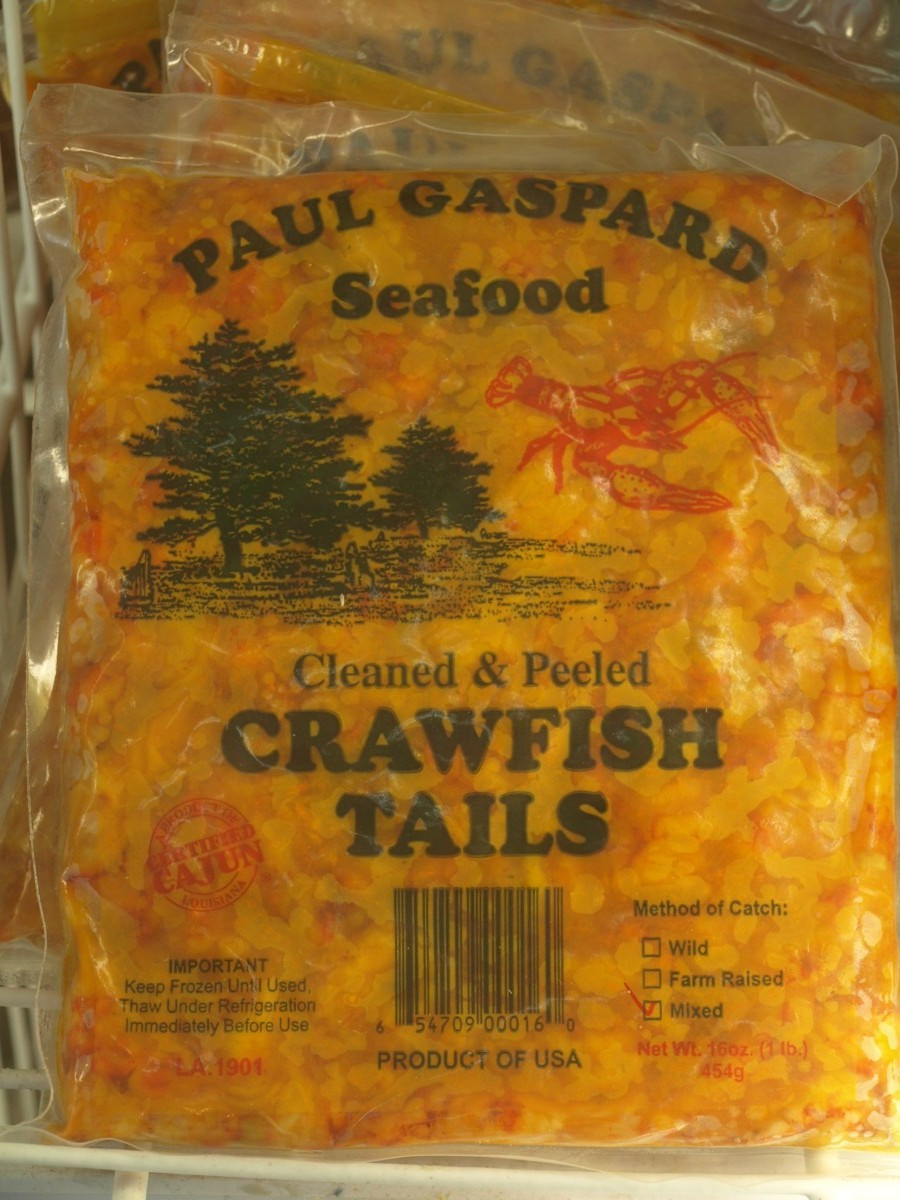 how to cook frozen crawfish tails