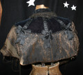 SOLD! Vintage Antique Late 1800's Victorian Gothic Shoulder Cape - As Is