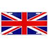 British Union Jack License Plate