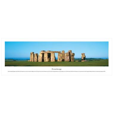 Panoramic Stonehenge Poster
