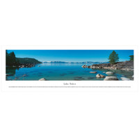 Panoramic Lake Tahoe Poster