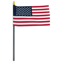 Mini USA Stick Flag