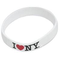I Love NY Rubber Bracelet