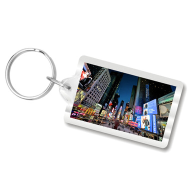 Times Square Keychain