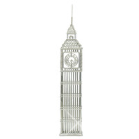 London Big Ben Statue Replica Steel Wire Model